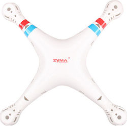 SYMA X8C UPPER/LOWER BODY REPLACEMENT WHITE - SYMA