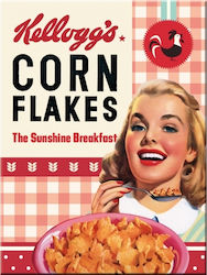 Nostalgic Art Kelloggs Girl Corn Flakes Collage 14368