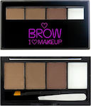 Makeup Revolution I Heart Brow Kit I Woke Up
