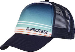 PROTEST BARFORTH TRUCKER CAP GROUND BLUE