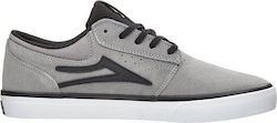 LAKAI GRIFFIN x HARD LUCK SHOES GREY BLACK SUEDE
