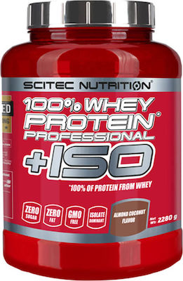 Scitec Nutrition 100% Whey Professional + ISO 2280gr Strawberry White Chocolate