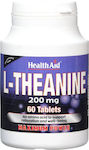 Health Aid L-Theanine 200mg 60 ταμπλέτες