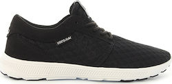 SUPRA SUPRA HAMMER RUN BLACK/LT GREY/WHITE 08128-098