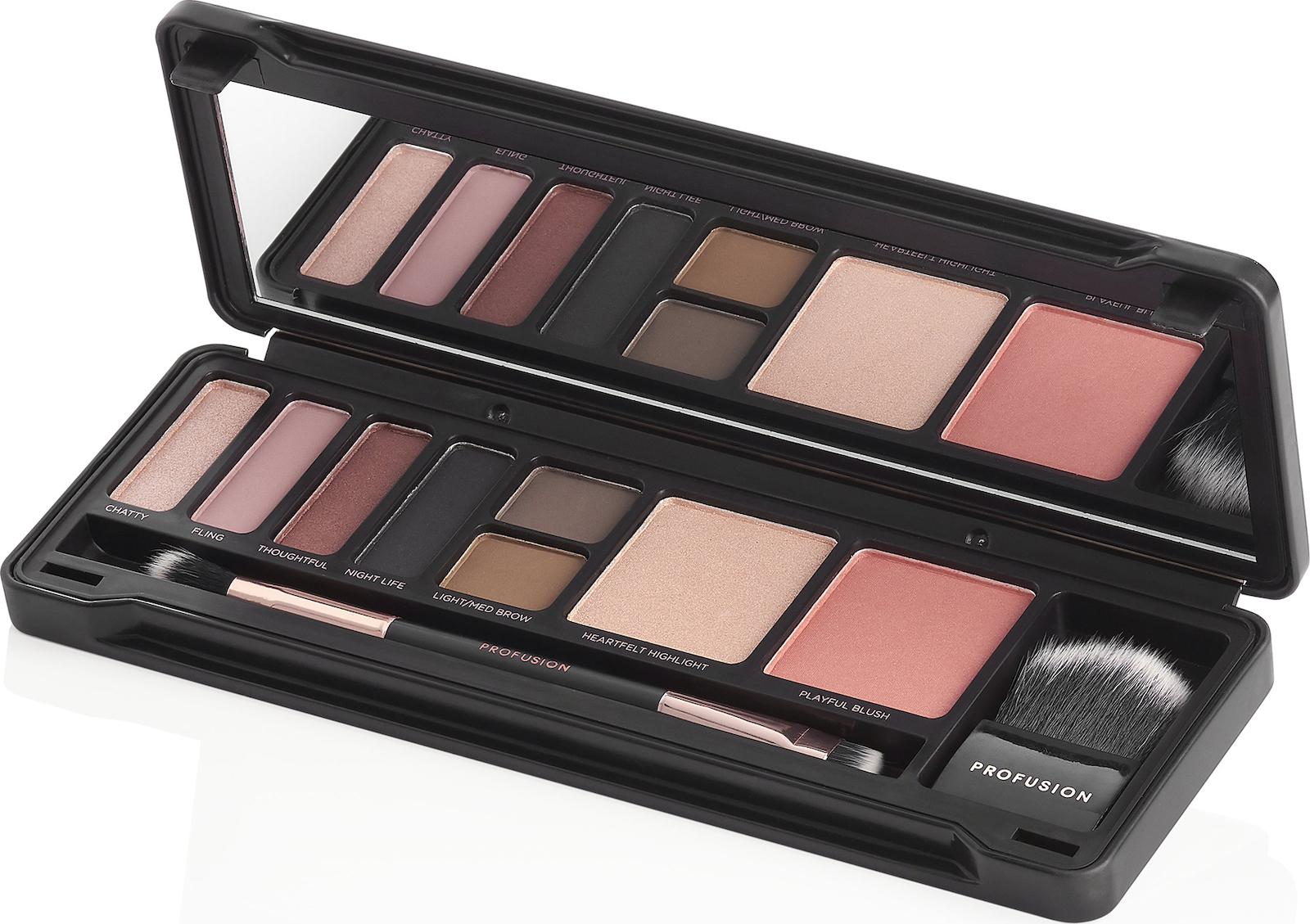 Profusion Cosmetics Eyeshadow Make Up Case Chestnut Eyes