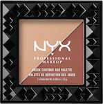 Nyx Professional Makeup Cheek Contour Duo Palette 06 Ginger & Pepper 2.5gr
