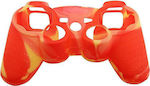 OEM Silicone Case Army Red/Yellow Dualshock PS3