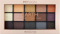 Makeup Revolution My Sign Eyeshadow Palette Earth