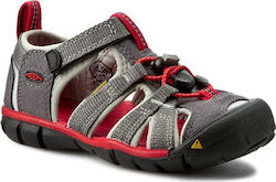 Σανδάλια KEEN - Seacamp II Cnx 1014123 Magnet/Racing Red