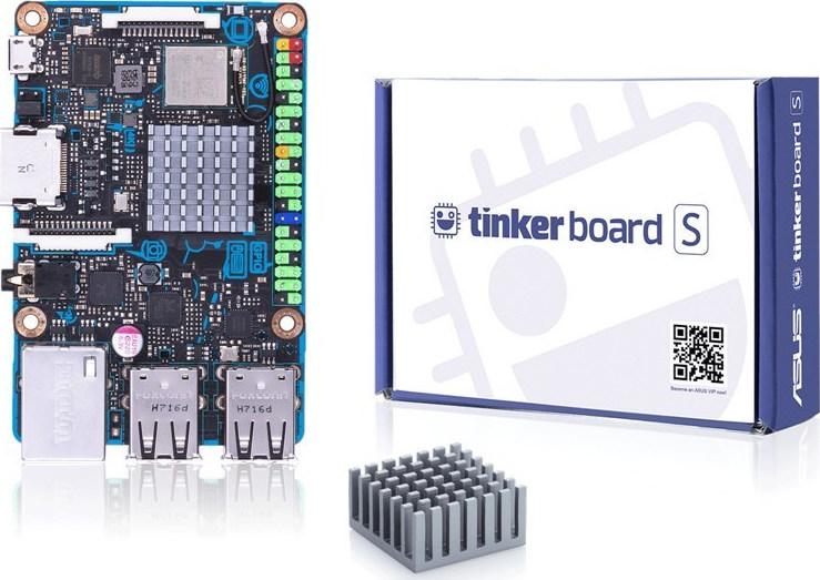 Asus Tinker Board S (90ME0031-M0EAY0) - Πληρωμή και σε έως 36 Δόσεις!!!