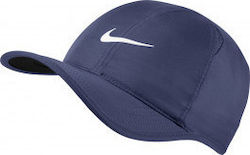 Nike NikeCourt AeroBill Featherlight Tennis Cap 679421-498 Blue