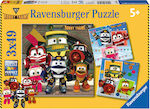 Robot Trains 3x49pcs (08047) Ravensburger
