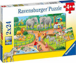 A Day at the Zoo 24pcs (07813) Ravensburger