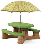 Step2 Picnic Table With Umbrella 787700