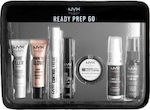 Nyx Professional Makeup Ready Prep Go Jet Set 7pcs