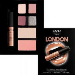 Nyx Professional Makeup London City Lip Eye & Face Collection