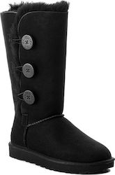 Ugg Australia Bailey Button Triplet II 1016227 Black