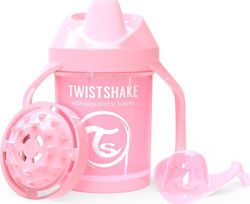 Twistshake Mini Cup Pastel Pink 230ml