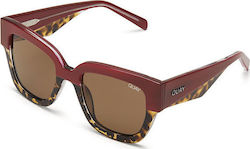 Quay Australia Don't Stop Red Tortoise / Brown