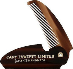 Captain Fawcett's Folding Pocket Moustache Comb CF.87T