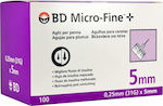 BD Micro-Fine Thin Wall 31G 0.25 x 5 mm 100τμχ