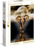 High Quality Collection: The Elephant 1000pcs (1220-39416) Clementoni