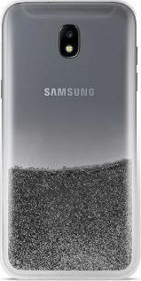 Puro Sand Back Cover Silver (Galaxy J5 2017)