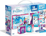 Παζλ Κύβοι Multiplay Frozen 12pcs (1100-41503) Clementoni