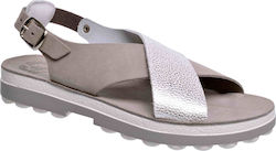 Fantasy Sandals Izabella S-9002 Grey Dollaro (Γκρι)