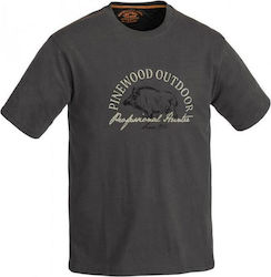 ΜΠΛΟΥΖΑΚΙ PINEWOOD Wild Boar T-Shirt Anthracite