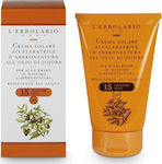 L' Erbolario Tan Accelerator Sun Cream with Jojoba Oil SPF15 125ml