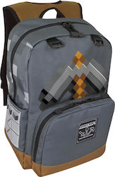 Jinx Minecraft Pickaxe Adventure Backpack 17.3""