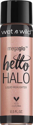 Wet n Wild MegaGlo Hello Halo Liquid Highlighter 306B Guilded Glow 15ml