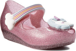 Κλειστά παπούτσια MELISSA - Mini Melissa Ultragirl Unicorn 32384 Glass Pink/Blue 53293