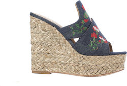 Ash Platform Sandals Bahia-Denim (Πέδιλα Γυναικείο Fabric Denim - Bahia)