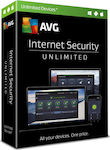 AVG Internet Security 2018 Unlimited ( Unlimited Licences , 1 Year)
