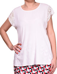ΜΠΛΟΥΖΑ GERRY WEBER(White) 760057-31611 White