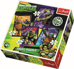 Teenage Mutant Ninja Turtles 4 in 1 207pcs (34266) Trefl