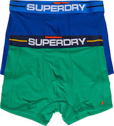 Superdry Double Pack Sport Boxers-Royal Blue (Εσώρουχα Ανδρικό Βαμβακερό Royal Blue - M31001TQ)