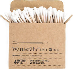 Hydrophil Bamboo Cotton Swabs 100τμχ