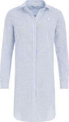 US POLO ASSN ROSE DRESS SHIRT LS ΠΟΥΚΑΜΙΣΟ ΓΥΝΑΙΚΕΙΟ 439965212-703 (703/BLUE STRIPE)