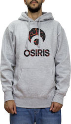 OSIRIS CORPORATE HOODIE ATHLETIC/HEATHER/MOLTEN