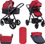 Lorelli Bertoni Alexa 2 in 1 10021261800 Black & Red
