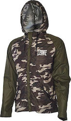 Leone Training Jacket AB799 Green Mimetic