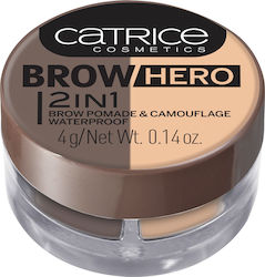 Catrice Cosmetics Brow Hero 2in1 Brow Pomade & Camouflage Waterproof 020 So Bella