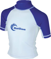 Bluewave Rash Guard White 64641
