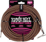 Ernie Ball Cable 6.3mm male - 6.3mm male 7.6m (6064)
