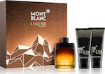 Mont Blanc Legend Night Eau de Parfum 100ml & Aftershave Lotion 100ml & Shower Gel 100ml