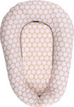 Lorelli Bertoni Breast Pillow Nest 3 in 1 Beige Circles