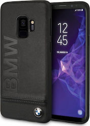 BMW Signature Leather Hard Μαύρο (Galaxy S9)